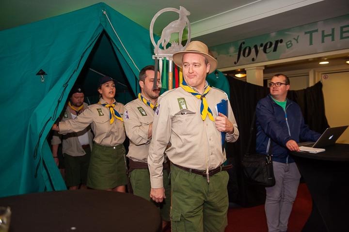 Castvoorstelling Scouts Forever - 1