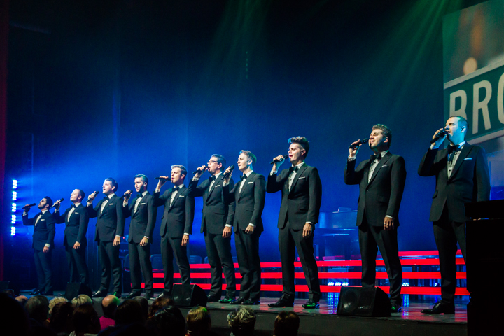 The Ten Tenors on Broadway - 5
