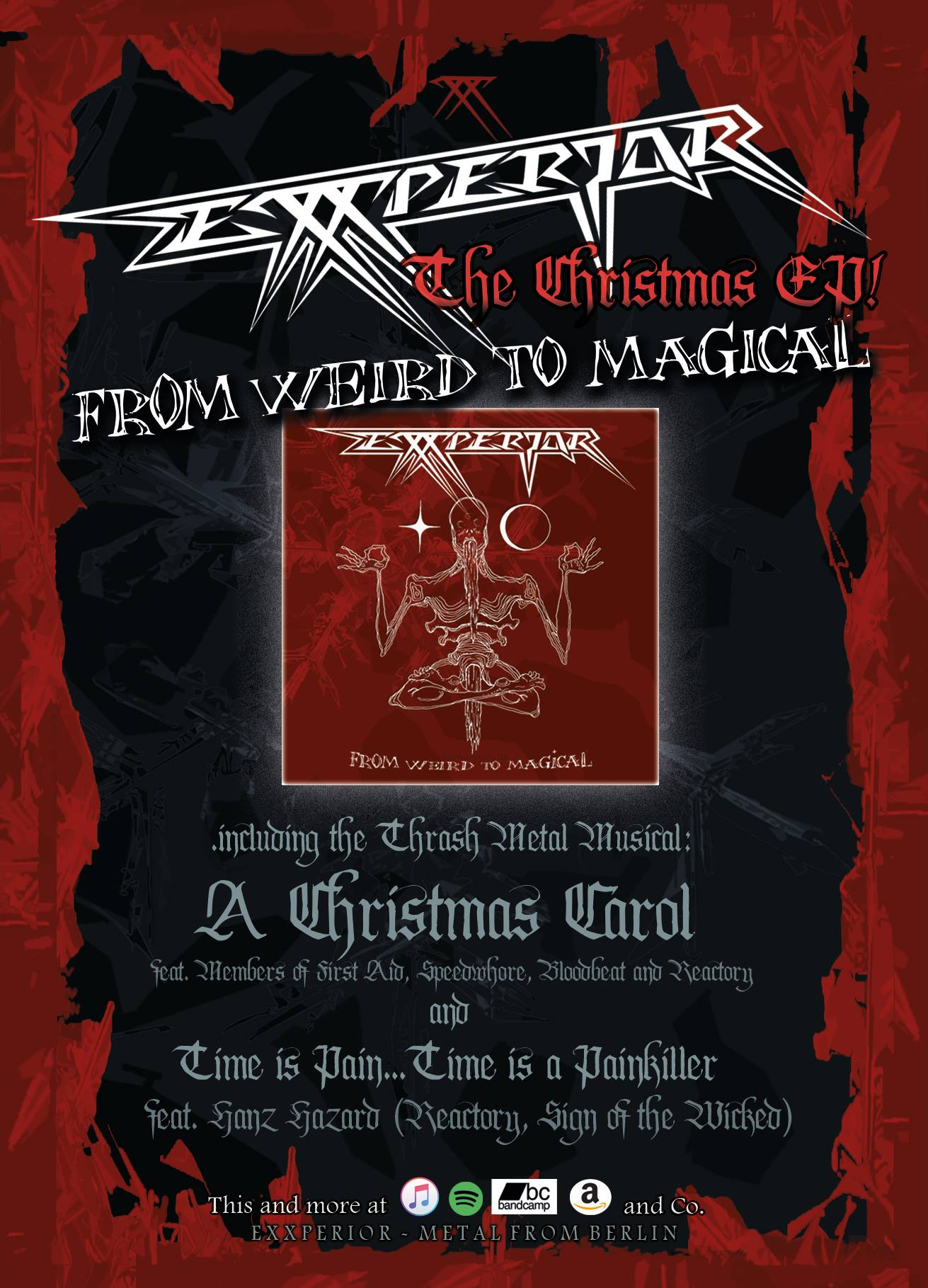 Exxperior Watch The Lyric Video For The Christmas Metal Musical A Christmas Carol Frontview Magazine