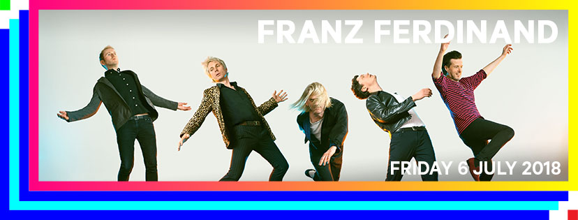 Franz Ferdinand, Russ and more confirmed for Rock Werchter