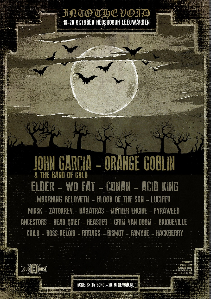 Into the Void reveals new names: Orange Goblin, Wo Fat and