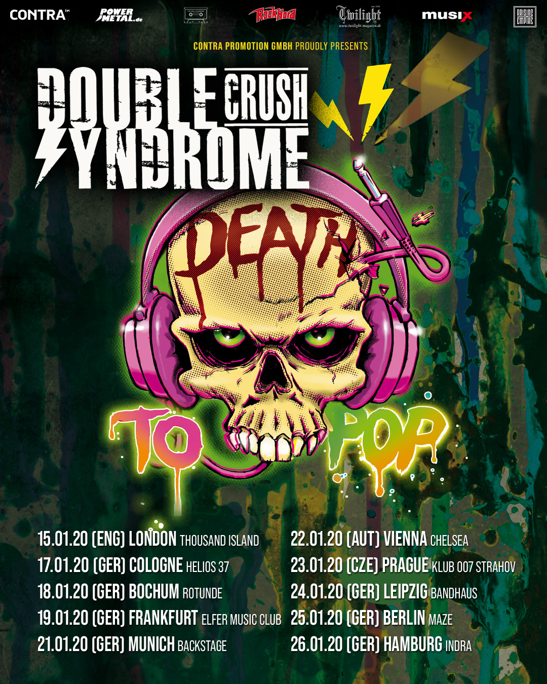 The Neighbourhood New Album 2020 Double Crush Syndrome announce »Death To Pop Tour 2020« and new