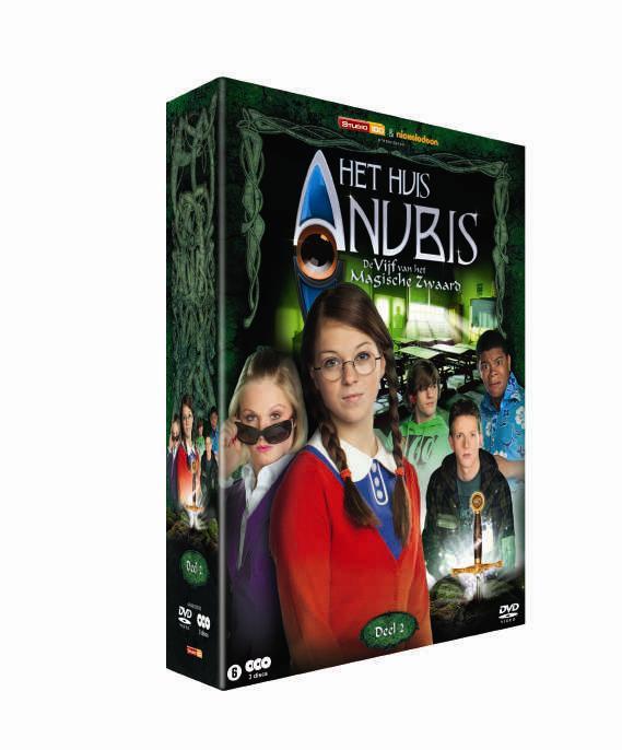 Het huis anubis en de vijf van het magische zwaard nu op dvd frontview magazine for De ingang van het huis
