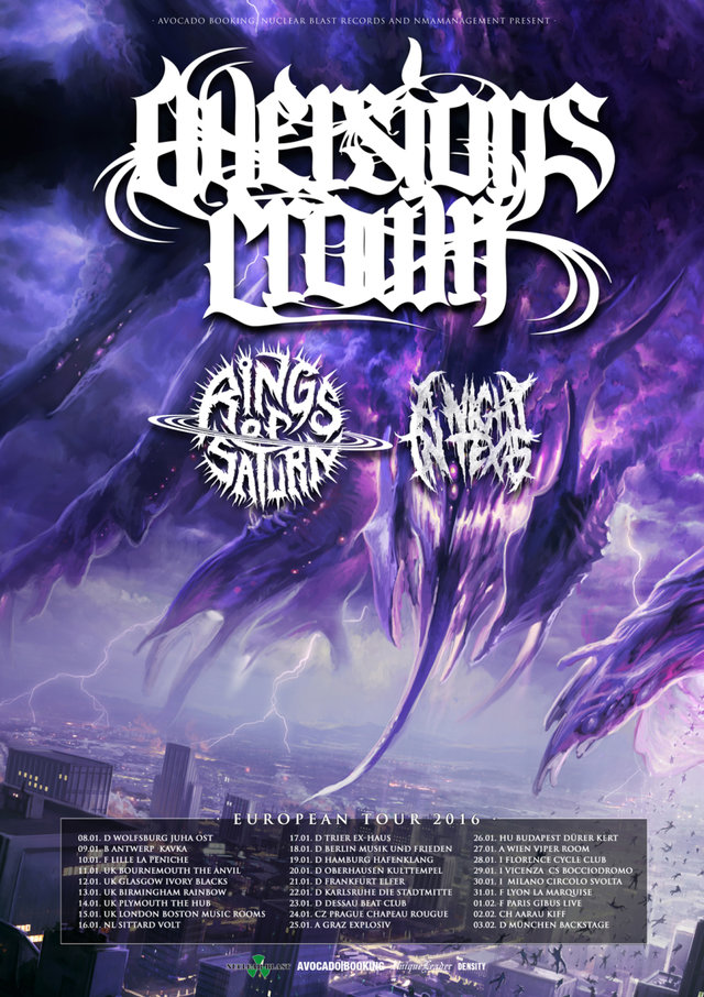 Aversions crown announce 2016 tour frontview magazine for Soil uk tour 2016