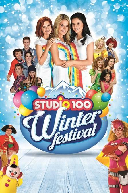 Studio 100 Viert 20 Jarig Jubileum Met Winterfestival In