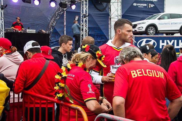Sfeerbeelden Frankrijk-Belgie - 1