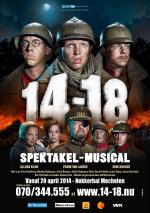 Al meer dan 50.000 tickets voor spektakel-musical 14-18