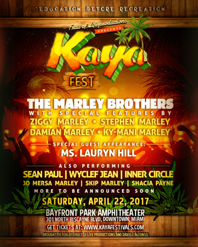 Stephen Marley Presents 1st Annual Kaya Fest | FrontView