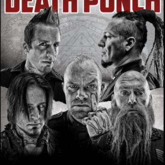 Five Finger Death Punch komt naar Trix