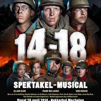 affiche Musical 14-18