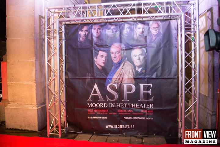 Première Aspe en de moord in het Theater - 1