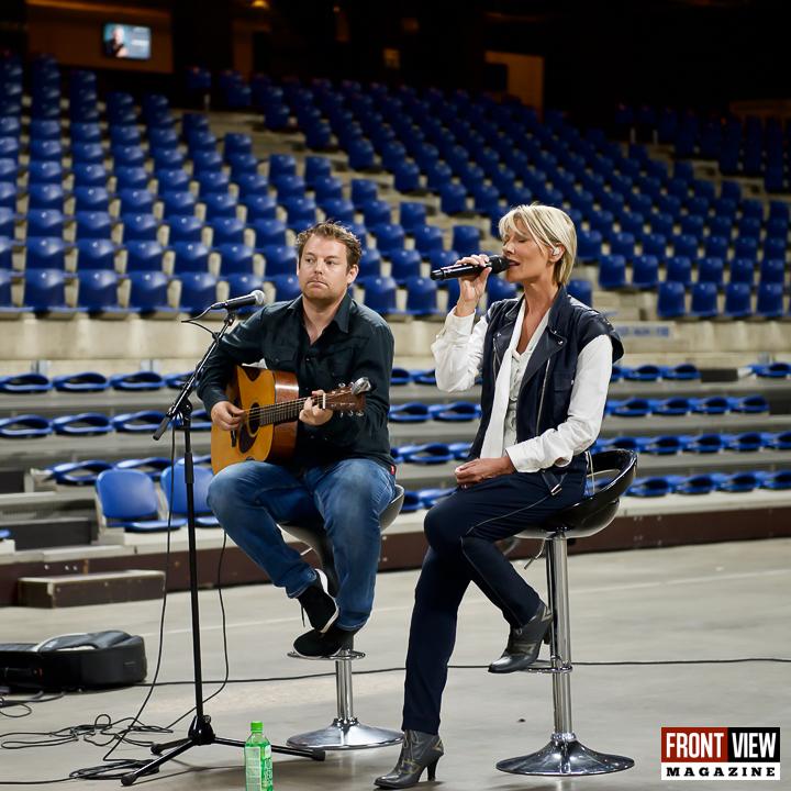 """Dana Winner op """"Het dak van de wereld Lotto Arena"""" - 3"""