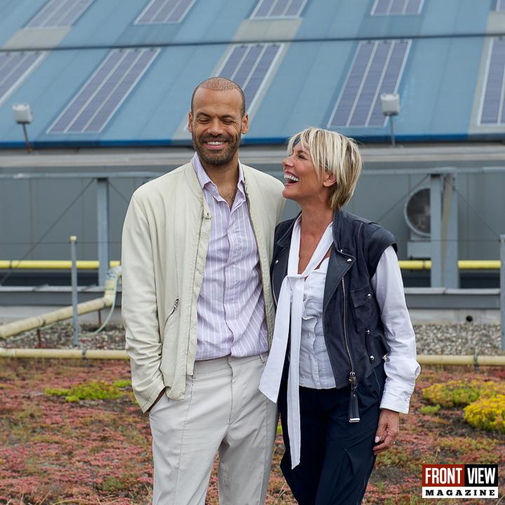 """Dana Winner op """"Het dak van de wereld Lotto Arena"""" - 10"""