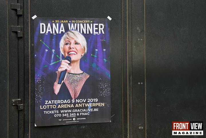 """Dana Winner op """"Het dak van de wereld Lotto Arena"""" - 15"""