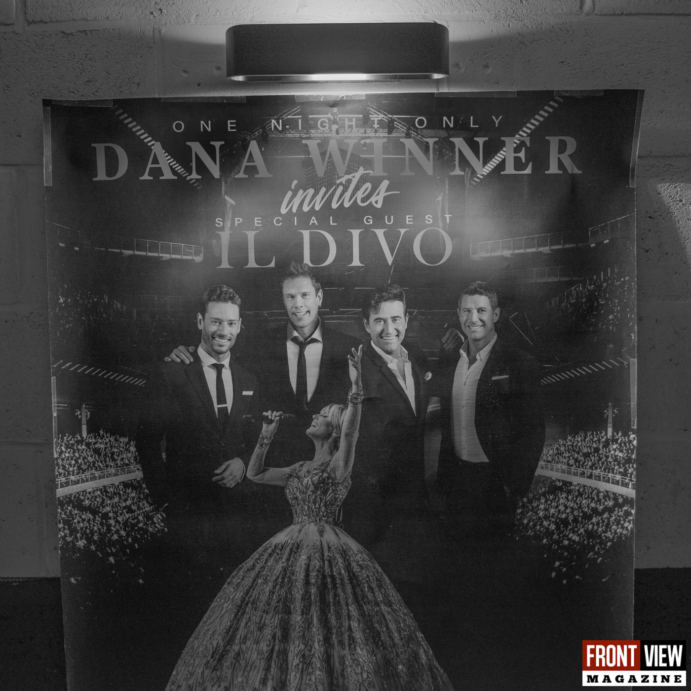 Persconferentie Dana Winner invites ... - one night only - 9